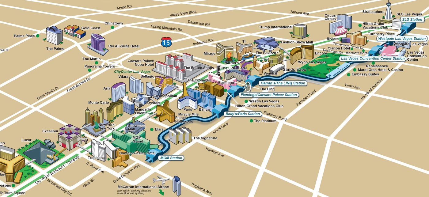Monorail Map